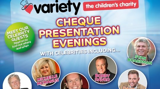Celebrity Charity Visits at Gala Bingo